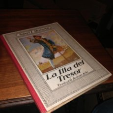 Libros antiguos: LA ILLA DEL TRESOR, ROBERT L.STEVENSON, 1930-1934. Lote 102566151