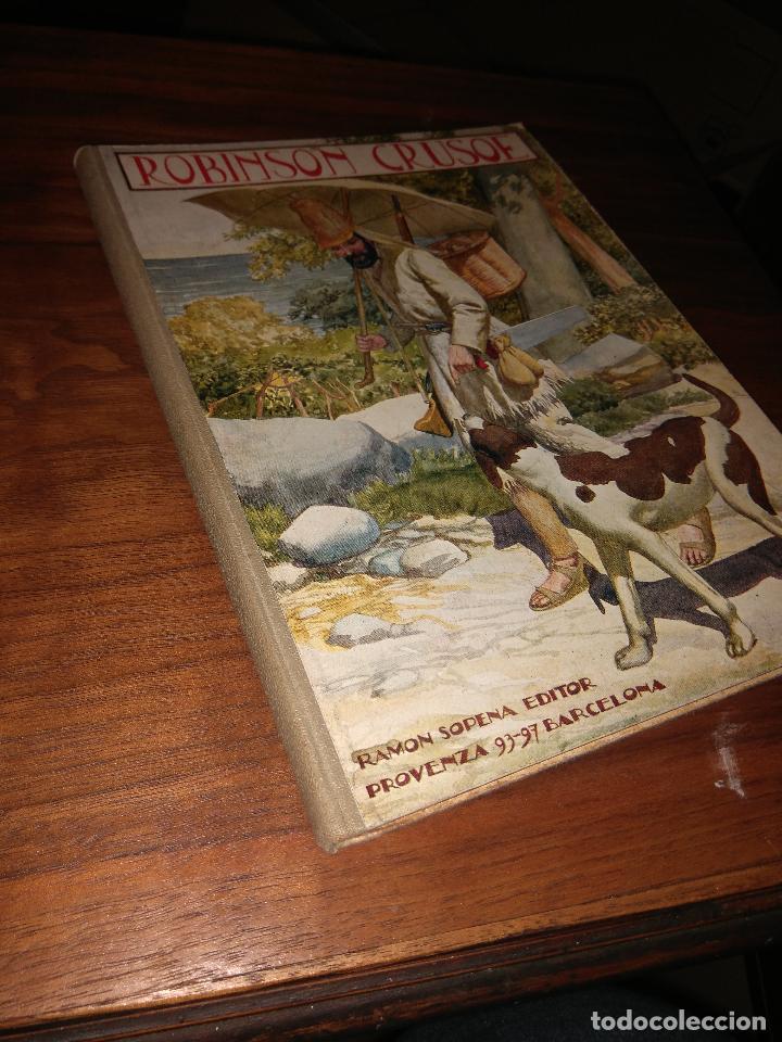 AVENTURAS DE ROBINSÓN CRUSOÉ, DANIEL DE FOE, 1930-1934 (Libros Antiguos, Raros y Curiosos - Literatura Infantil y Juvenil - Novela)