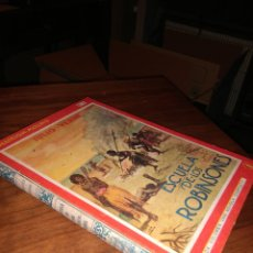 Libros antiguos: ESCUELA DE LOS ROBINSONES, JULIO VERNE, 1930-1934. Lote 102566143