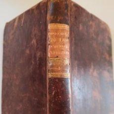 Libros antiguos: LIBRO,EL CONFESIONARIO DE LOS PENITENTES NEGROS, SIGLO XIX, AÑO 1821,EPOCA NAPOLEON BONAPARTE,TOMO I. Lote 103103255