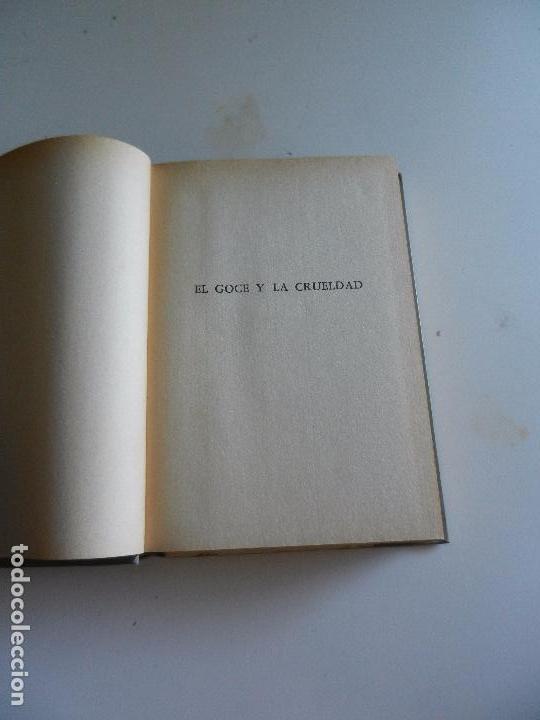 Libros antiguos: EL GOCE Y LA CRUELDAD GUY DE MASSILLON. - Foto 3 - 104190935