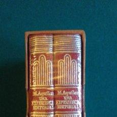 Libros antiguos: M. AGUILAR. UNA EXPERIENCIA EDITORIAL. CRISOL Nº 36. VOLUMEN EXTRA CONMEMORATIVO. 2 TOMOS. Lote 104385247