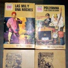 Libros antiguos: LAS MIL Y UNA NOCHE, POLLYANNA Y LAS FLORES DE AZAHAR, OLIVERIO TWIST, FABIOLA.. Lote 104606539