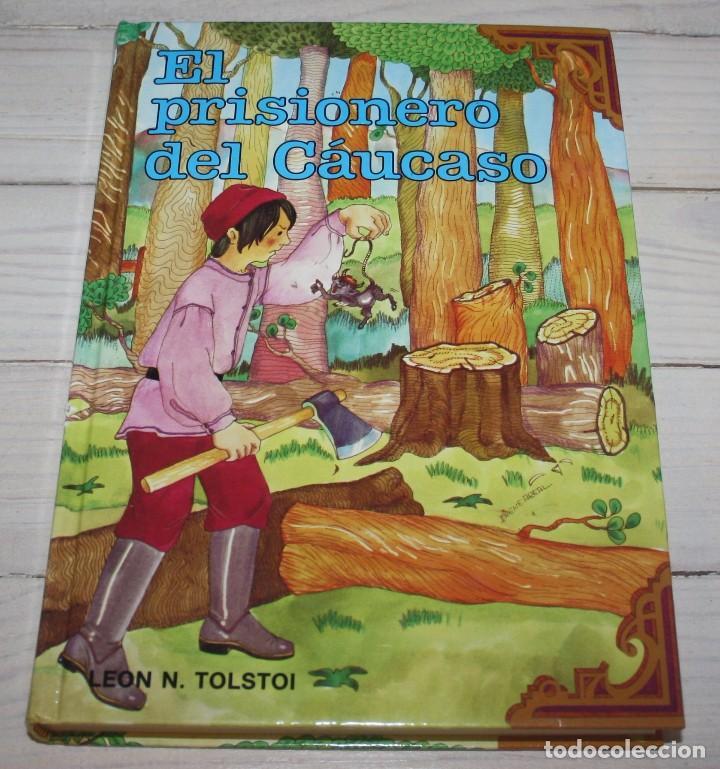 EL PRISIONERO DEL CAÚCASO - LEÓN TOLSTOI - CLÁSICOS JÓVENES GAVIOTA (Libros Antiguos, Raros y Curiosos - Literatura Infantil y Juvenil - Novela)