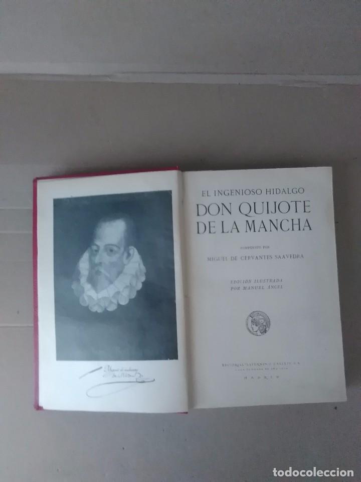DON QUIJOTE DE LA MANCHA AGUILAR 1605 (Libros Antiguos, Raros y Curiosos - Literatura Infantil y Juvenil - Novela)