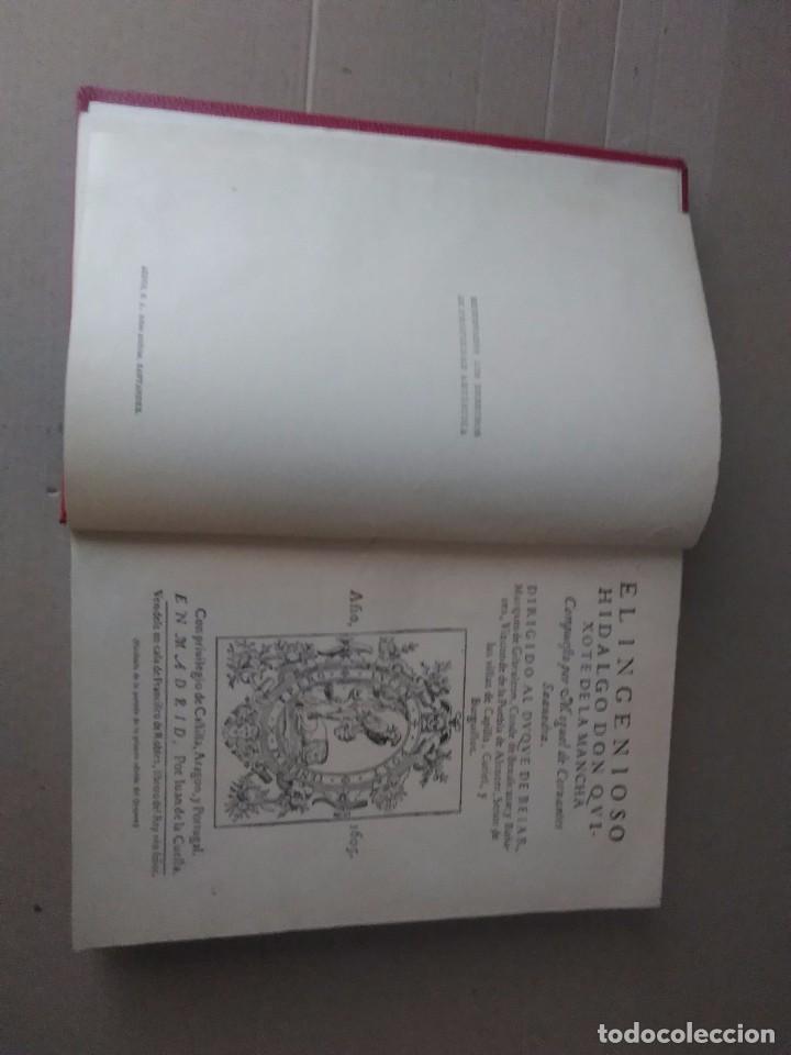 Libros antiguos: Don Quijote de la mancha aguilar 1605 - Foto 3 - 105076211