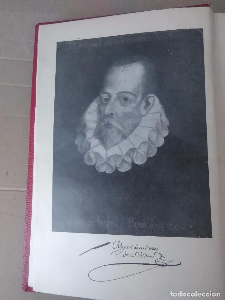 Libros antiguos: Don Quijote de la mancha aguilar 1605 - Foto 7 - 105076211
