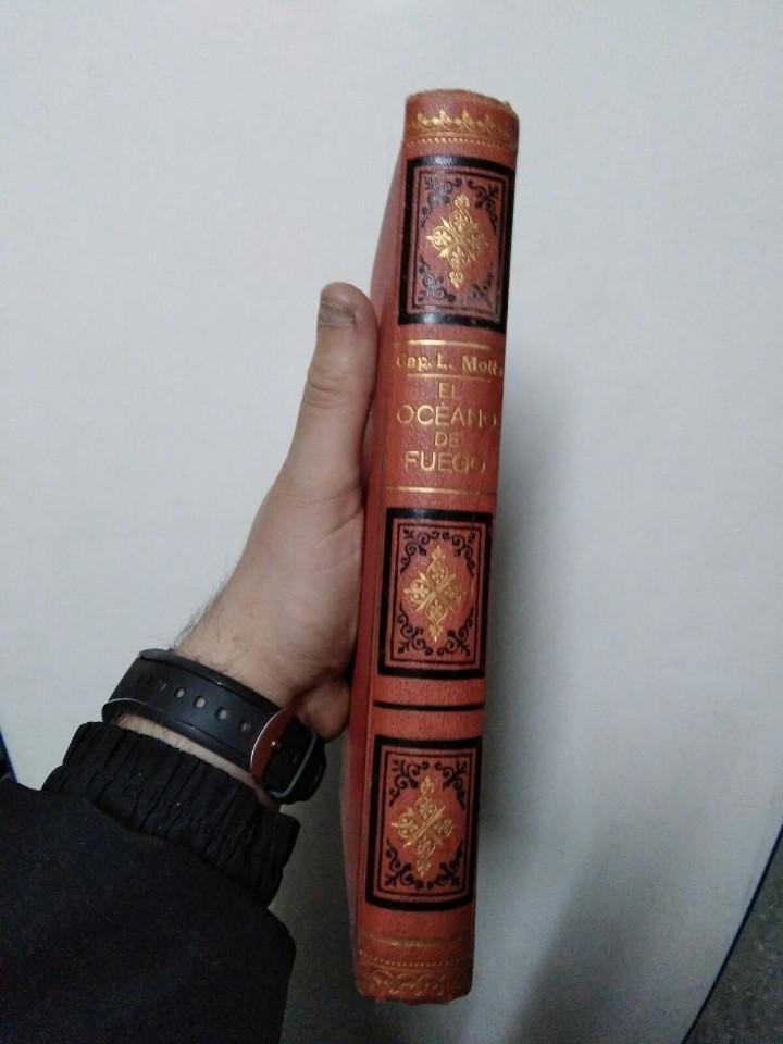 Libros antiguos: Antiguo libro el oceano de fuego( 1siglo de antigüedad) - Foto 2 - 105622687