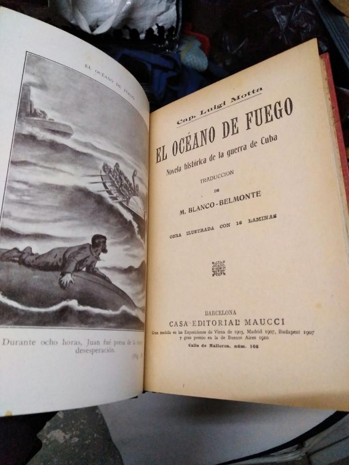 Libros antiguos: Antiguo libro el oceano de fuego( 1siglo de antigüedad) - Foto 3 - 105622687