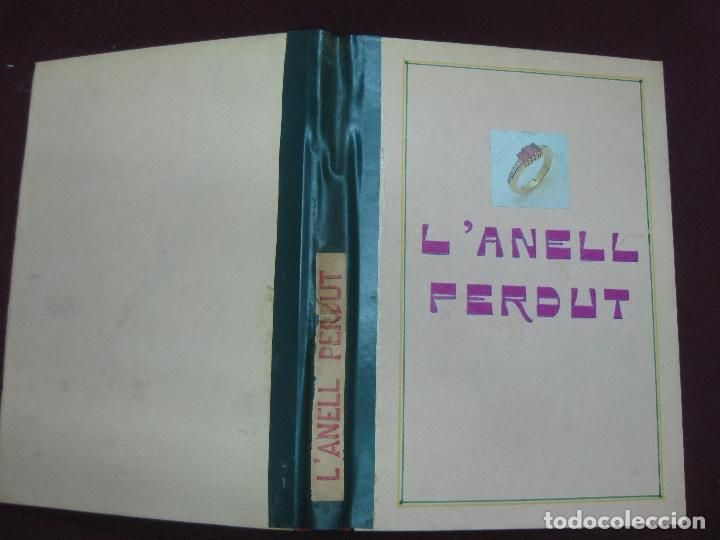 Libros antiguos: L'ANELL PERDUT. JOSEP Mª FOLCH I TORRES. IL·LUSTRADA PER JUNCEDA. BIBLIOTECA PATUFET. 1934 - Foto 2 - 106318983