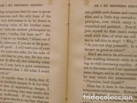Libros antiguos: Am I my brother´s keeper?/ James Floy, D.D./ 1863/ New York - Foto 5 - 107935439