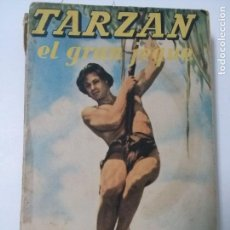 Libros antiguos: TARZÁN EL GRAN JEQUE- EDITORIAL GUSTAVO GILI 1956. . Lote 109214607