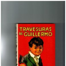 Libros antiguos: TRAVESURAS DE GUILLERMO Nº 1 -EDITORIAL MOLINO 1980-. Lote 109405827