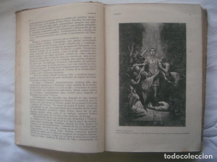 Libros antiguos: LIBRERIA GHOTICA. SATURNINO CALLEJA. BIBLIOTECA PERLA: NICOLAS WISEMAN. FABIOLA. 1900. GRABADOS. - Foto 4 - 110038599