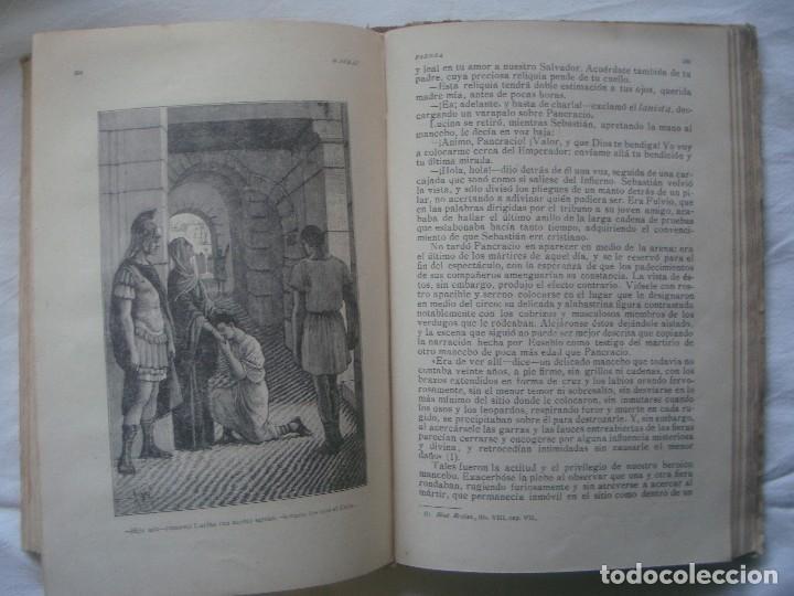 Libros antiguos: LIBRERIA GHOTICA. SATURNINO CALLEJA. BIBLIOTECA PERLA: NICOLAS WISEMAN. FABIOLA. 1900. GRABADOS. - Foto 5 - 110038599