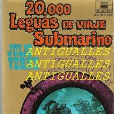 Libros antiguos: LIBRO 20000 LEGUAS DE VIAJE SUBMARINO,JULIO VERNE AÑO 1968,EDITORIAL EDISVEN,BARCELONA. Lote 110062379