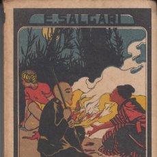 Libros antiguos: E.SALGARI FLOR DE LAS PERLAS SATURNINO CALLEJA . Lote 111047227