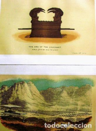 Libros antiguos: Panorama of the Tabernacle/ Frank H. White/ Vessels of the Ministry/ 1873-74? - Foto 5 - 111380891