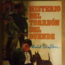 Libros antiguos: ENID BLYTON - MISTERIO DEL TORREON DEL DUENDE . Lote 111767239