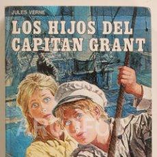Libros antiguos: CLÁSICOS DE LA JUVENTUD - LOS HIJOS DEL CAPITÁN GRANT - JULES VERNE - EDIVAL 1977. Lote 112640563