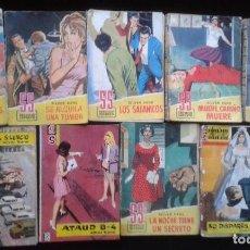 Libros antiguos: LOTE 9 NOVELAS SERVICIO SECRETO BRUGUERA 1957 CON ACTORES FAMOSOS LLUVIA DE ESTRELLAS (4). Lote 113196111