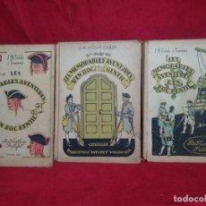 Libros antiguos - LES MEMORABLES AVENTURES D'EN ROC GENTIL - 113658643