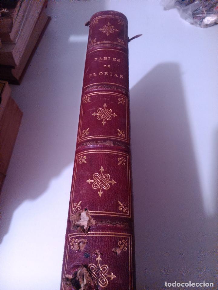 FABLES DE FLORIAN FÁBULAS DE FLORIAN (Libros Antiguos, Raros y Curiosos - Literatura Infantil y Juvenil - Novela)
