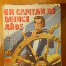 Libros antiguos: UN CAPITAN DE QUINCE AÑOS - JULIO VERNE -- EDITORIAL DIFUSIÓN -. Lote 114593007