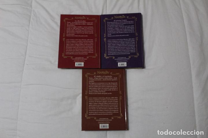 Libros antiguos: LIBROS LAS CRÓNICAS DE NARNIA. AUTOR C.S LEWIS. - Foto 3 - 114799871