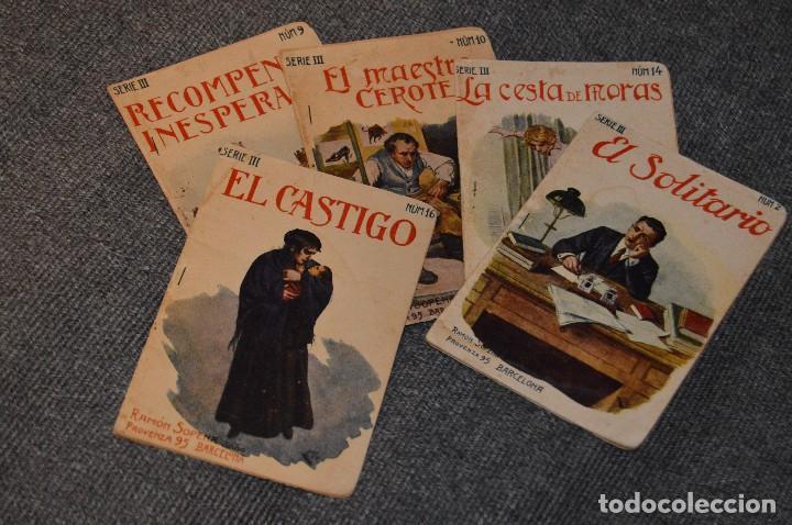 VINTAGE - COLECCIÓN INFANTIL - 5 NÚMEROS - RAMÓN SOPENA - SERIE III - AÑOS 30 - HAZME UNA OFERTA (Libros Antiguos, Raros y Curiosos - Literatura Infantil y Juvenil - Novela)
