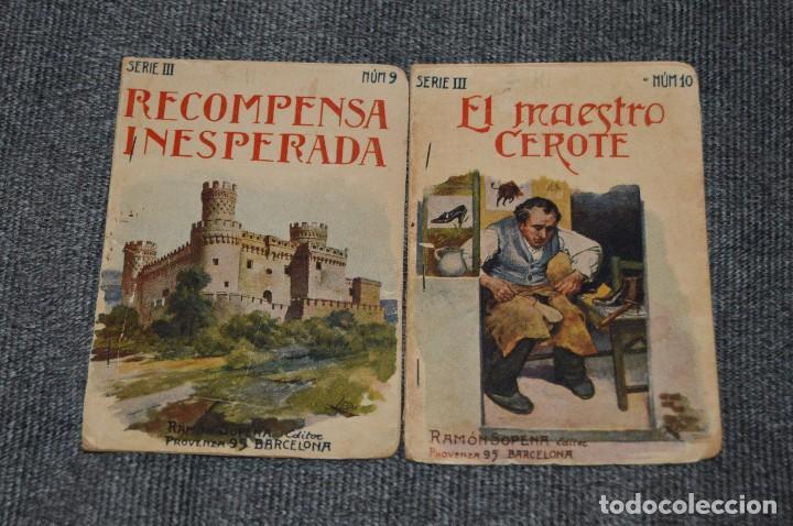 Libros antiguos: VINTAGE - COLECCIÓN INFANTIL - 5 NÚMEROS - RAMÓN SOPENA - SERIE III - AÑOS 30 - HAZME UNA OFERTA - Foto 2 - 114835247