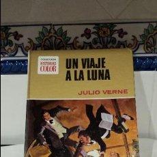 Libros antiguos: UN VIAJE A LA LUNA DE JULIO VERNE. Lote 115260279