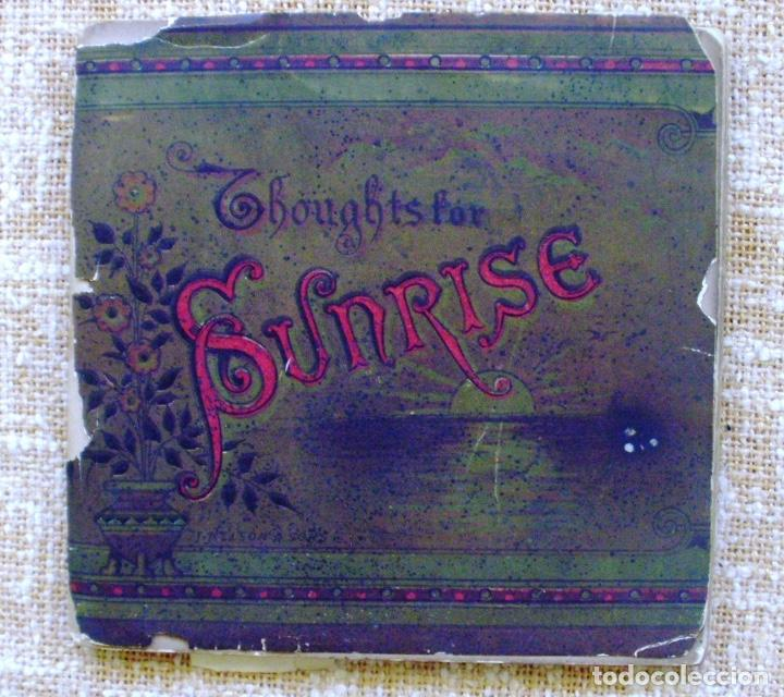 THOUGHTS FOR SUNRISE/ L.M.W./ T. NELSON & SONS/ 1900? (Libros Antiguos, Raros y Curiosos - Literatura Infantil y Juvenil - Novela)