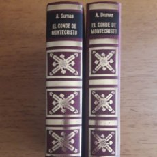 Libros antiguos: EL CONDE DE MONTECRISTO (TOMOS 1 Y 2) / VERSIÓN DE J.P. FUSTER / 1973. Lote 29362464