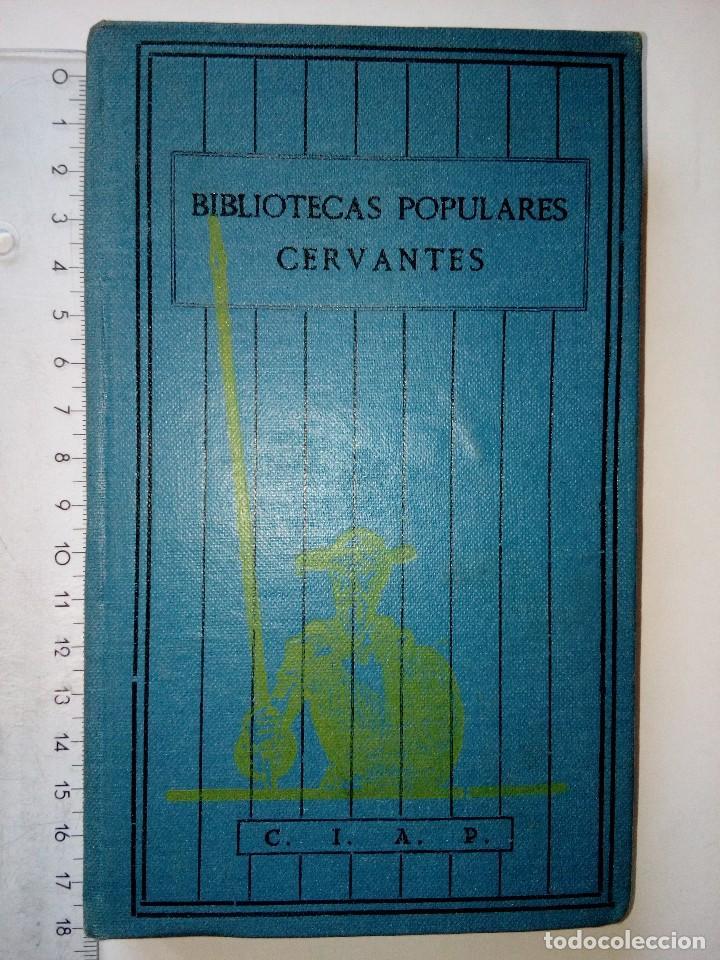VIAJE SENTIMENTAL DE UN INGLÉS A FRANCIA DE LORENZO STERNE, BIBLIOTECAS POPULARES,AÑOS 30,VOL.22 (Libros Antiguos, Raros y Curiosos - Literatura Infantil y Juvenil - Novela)