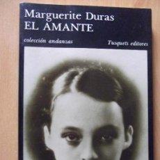 Libros antiguos: MARGUERITE DURAS-EL AMANTE-145 PAGINAS-210X140MM. Lote 118777343