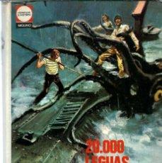 Libros antiguos: S20-LIBRO DE 318 PAGS. - 20.000 LEGUAS DE VIAJE SUBMARINO - DE JULIO VERNE DE 1972. Lote 121269455