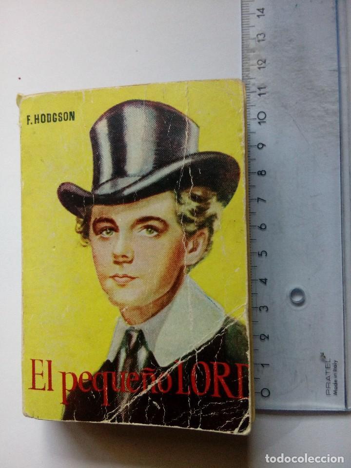 ENCICLOPEDIA PULGA 69, EL PEQUEÑO LORD DE F HODGSON, EDICIONES G.P. BARCELONA, AÑOS 50 (Libros Antiguos, Raros y Curiosos - Literatura Infantil y Juvenil - Novela)
