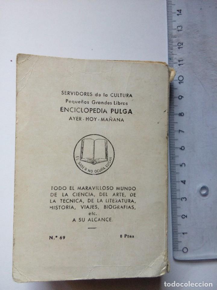 Libros antiguos: Enciclopedia Pulga 69, el pequeño Lord de F Hodgson, Ediciones G.P. Barcelona, años 50 - Foto 4 - 121789731