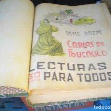 Libros antiguos: TRES TOMOS DE LECTURA PARA TODOS SUPLEMENTO DE LA REVISTA JEROMIN CON NUMERAS NOVELAS. Lote 121877179