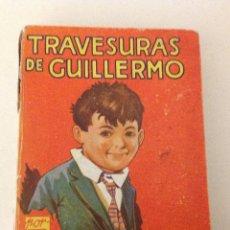 Libros antiguos: TRAVESURAS DE GUILLERMO.RICHMAL CROMPTON. Lote 121934103