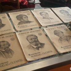 Libros antiguos: REVISTA LITERARIA NOVELAS Y CUENTOS AÑO 1930. 20 EJEMPLARES BUEN ESTADO. Lote 237060595