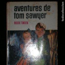 Libros antiguos: F1 AVENTURES DER TOM SAWYER MARK TWAIN CON 250 ILUSTRACIONES Nº 11. Lote 123101783