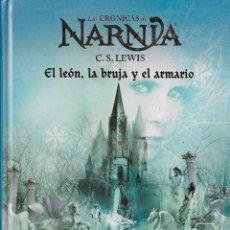 Libros antiguos: EL LEÓN, LA BRUJA Y EL ARMARIO - C.S. LEWIS - LAS CRÓNICAS DE NARNIA - DESTINO - VOLUMEN 2 . Lote 124144291
