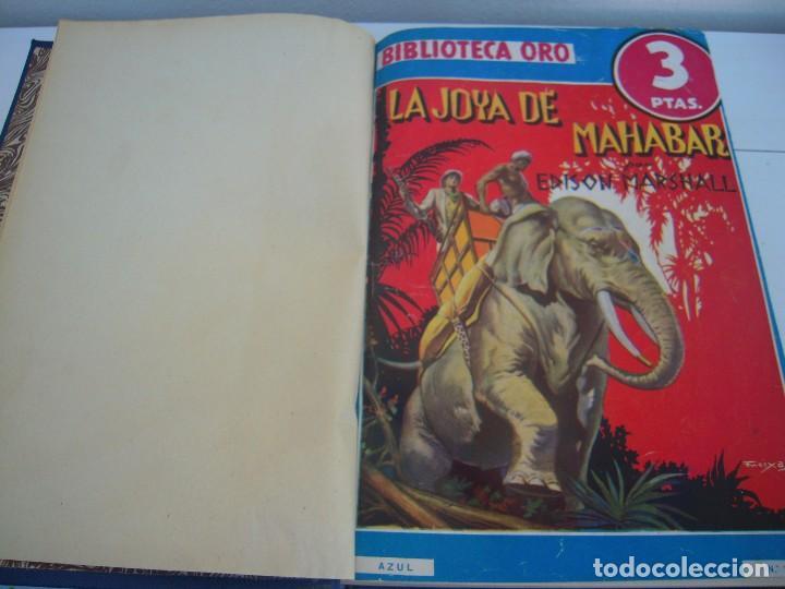 TOMO BIBLIOTECA ORO (Libros Antiguos, Raros y Curiosos - Literatura Infantil y Juvenil - Novela)