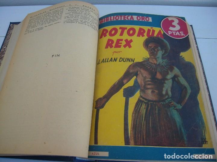 Libros antiguos: tomo biblioteca oro - Foto 2 - 124540887
