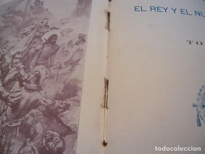 Libros antiguos: la inquisicion el rey y el nuevo mundo la novela de ahora editorial saturnino calleja - Foto 3 - 124543755