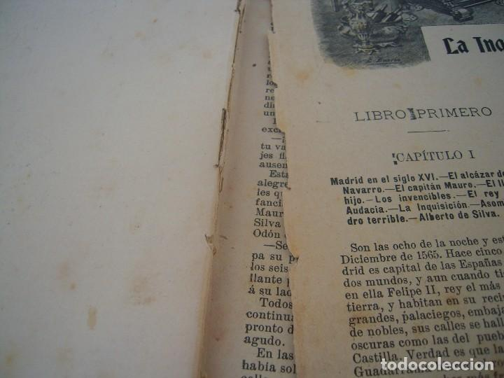 Libros antiguos: la inquisicion el rey y el nuevo mundo la novela de ahora editorial saturnino calleja - Foto 5 - 124543755