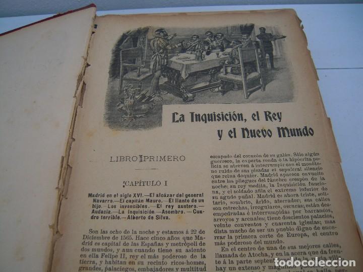 Libros antiguos: la inquisicion el rey y el nuevo mundo la novela de ahora editorial saturnino calleja - Foto 6 - 124543755