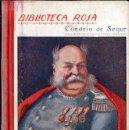 Libros antiguos: CONDESA DE SEGUR : EL GENERAL DOURAKINE (LIBR. RELIGIOSA, 1930). Lote 124633847